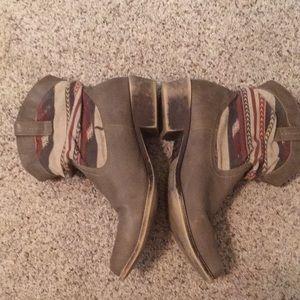 Shortie Ankle Cowboy Boots